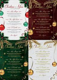 Word Templates Christmas 13 Best Christmas Menu Templates For Any Restaurant