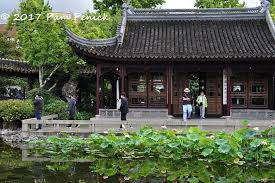 while vacationing in portland last month we visited lan su chinese garden in downtown portland it was my third visit and i find i enjoy it more each time