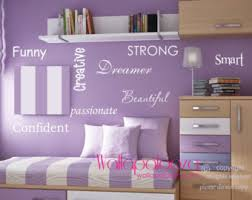 girl s room wall words inspirational motivational wall decal girl s bedroom decal nursery wall art girl s room decor nursery decor on wall art words for bedroom with wall words etsy
