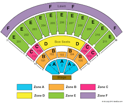 Sleep Train Amphitheatre Seating Chart