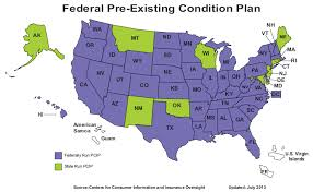 Pre Existing Condition Chart High Risk Pools And Aca Coverage For The Uninsurable
