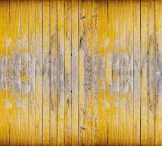 ochre planks faux wood wallpaper mural