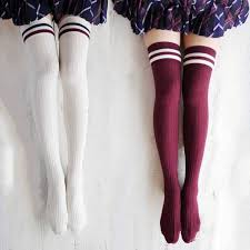 plus size thigh high socks 3 pairs lot hot cotton thigh highs socks women plus size over knee