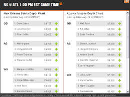 Stack Your Draftkings Nfl Line Up Online Poker Update