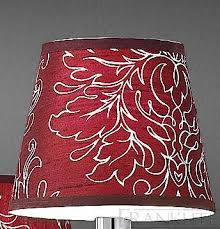 patterned burdy silk candle shade franklite lighting
