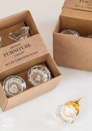 Furniture knobs from HomeGoods