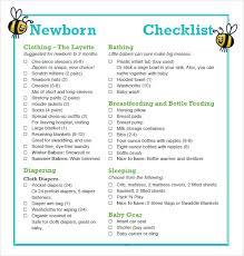 Baby Check List Free 9 Newborn Checklist Samples In Google Docs Ms Word