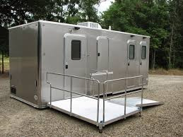 bathroom trailers. Handicapped Restroom Trailer Omega AMS Global Bathroom Trailers
