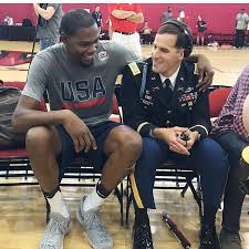 Scott smiley is a top patent attorney in fort lauderdale and partner/founder of concept law. Drunk Old Grad On Twitter Chillin W Kevin Durant Major Scott Smiley Is The Army S First Blind Active Duty Officer And 2003 West Point Grad