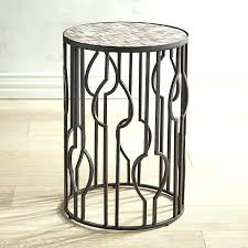 drum accent table round drum accent table topic to breathtaking round drum accent table pier