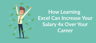 How Learning Excel Can Increase Your Salary 4x Over Your Career