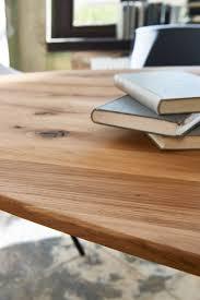 Kawola Esstisch Devera Tisch Rund Eiche Massiv 220x105cm