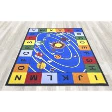 school rug rugs for kids rooms solar system carpets bedroom classroom activity rug school school