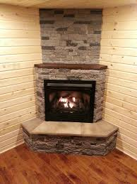 we replaced the wood burning stove with a gas zero clearance fireplace