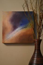 abstract painting inspired by space via craftsy member julie bonnett woodley