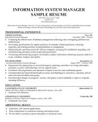 Gallery of: Management information systems resume