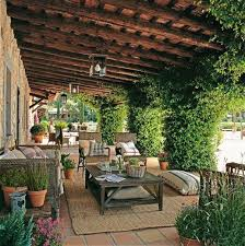 spanish style outdoor furniture. i like this pergola because bugs canu0027t fall on you old california and spanish revival style outdoor furniture h