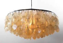 vintage pendant light fun 11dm by verner panton manufactured by frandsen lighting denmark