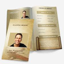 Download Funeral Program Templates Bible Theme Funeral Pamphlets 21