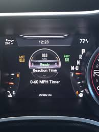 2015 Challenger SXT: 0-60 mph (0 to 60 mph) times... - Page 4 ...