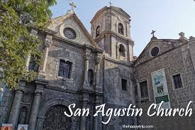 Image result for San Agustin Church in Manila