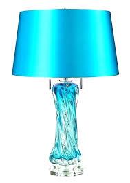 teal lamp base blue lamp base turquoise lamp base turquoise glass table lamp base le blown teal lamp base