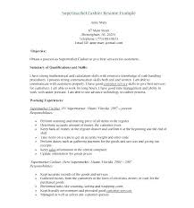 Cashier Example Resume Cashier Resume Description Sales Associate