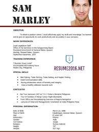 Marvellous Latest Sample Resume Format 24 For Your Resume Templates Word  with Latest Sample Resume Format