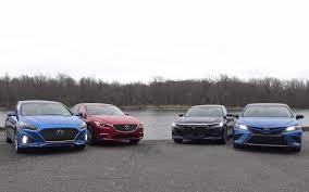 Midsize Sedan Comparison Test Camry Sonata Accord And