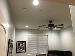 6 Led Recessed Lighting 4000k Installed 4x 6 Inch 4000k Led Recessed Lights In A Home