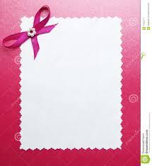 Wedding Paper Card Or Photo Frame Border Stock Image Image Of