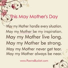 short poems on my mother in english co this mother s day my wishes