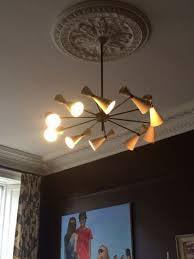 chandelier installation 1