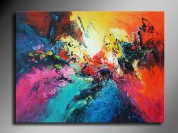 Image of: big canvas painting ideas