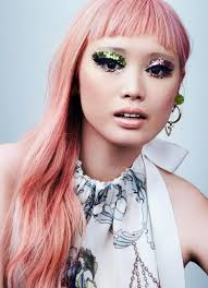 fernanda ly for glamour us makeup lookbook