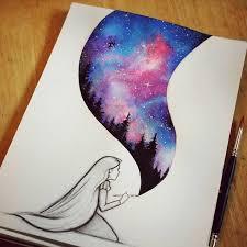 really cool painting ideas best 25 galaxy art ideas