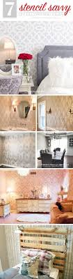 cutting edge stencils shares diy home decorating ideas using wall stencil patterns