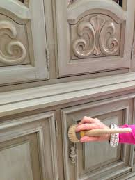 distressed kitchen cabinets with chalk paint best cabinets decoration