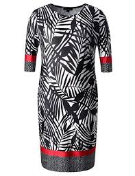Shift Size Chart Chicwe Womens Plus Size Stretch Designed Leaves Shift Dress Casual Dress With Border Pattern