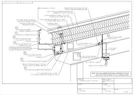 standing seam metal roof cad details and villa corrugated