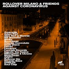 Adam for ROLLOVER MILANO & FRIENDS against CORONAVIRUS