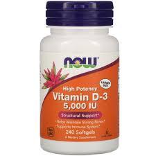 -20% на Витамины D-3 (например Now Foods <b>Витамин D3</b>, 5000 ...