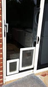 temporary dog doors for sliding glass doors lovely cat flap sliding door insert sliding door designs