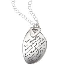 dear granddaughter necklace with