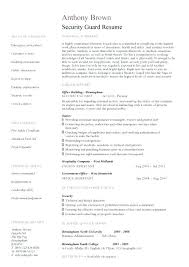 Narcotics Officer Sample Resume Amazing Security Officer Resume Sample Resume Tutorial Pro