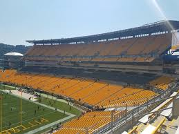 Steelers Seating Chart With Rows Pittsburgh Steelers Seating Guide Heinz Field