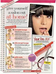 Cut Your Own Bangs At Home