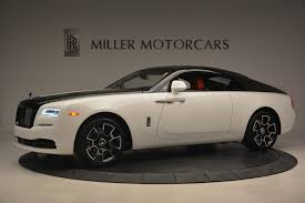rolls royce wraith white and black. new 2017 rollsroyce wraith black badge greenwich ct rolls royce white and l