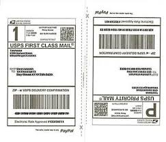 25 Sheets Shipping Labels 50 Half Page Shipping Labels For Etsy