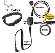 motorola radio accessories planet headset throat microphone